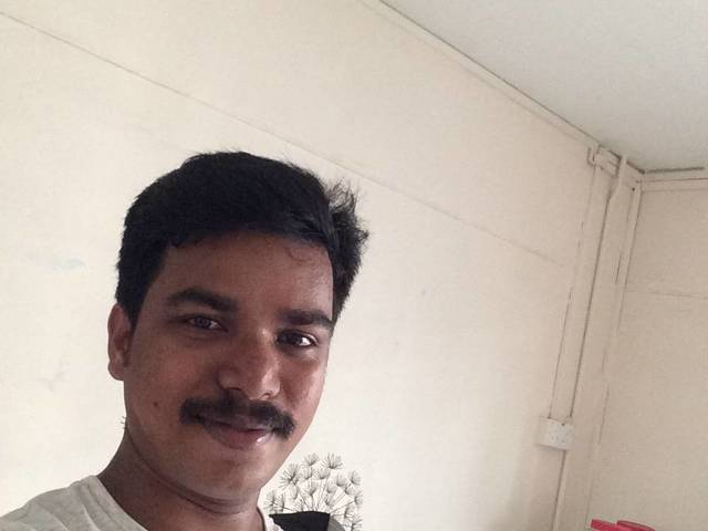 Selvam Tamilmaran is looking for a room in Central Singapore