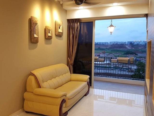 Common Room with attached Balcony!