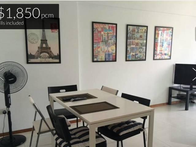 Masterbedroom at Duxton Pinnacle