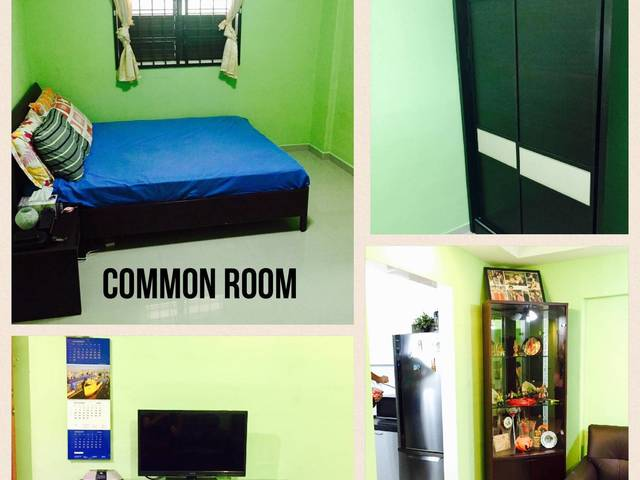 Spacious Common Room - No Agent Fee!! No Owner !!