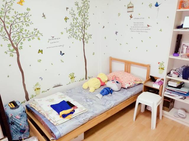 Tampines St.11 Large Cozy Aicon common room for rent, mansion house, Privatized Apartment