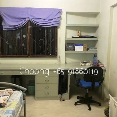 Sengkang Blk 207D common rm for male, near Buangkok MRT & Ranggung LRT, no agent fee