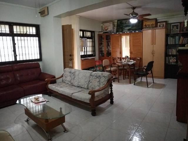 Common room near Woodlands MRT