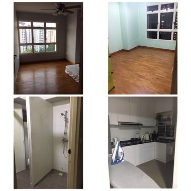 2 common rooms @ Sengkang Compassvale Lane Block 213B for rent
