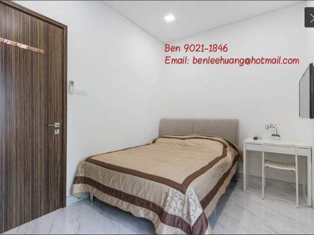 Hougang MRT 3F M2 Modern Studio Master Bedroom Private Attach Ensuit Bathroom Direct Owner