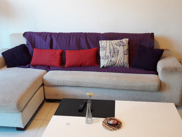 Common room in bright & airy apartment available end of Oct in central location!