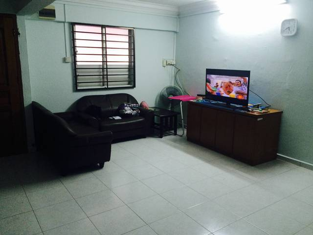 Fully furnished master bedroom immediately available
