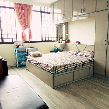 Master bedroom for females, 1150sgd for 2 females