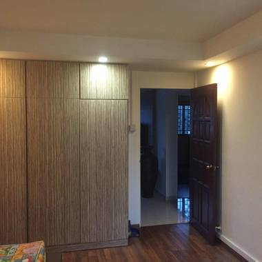 condo layout spacious rooms 5 min walk to Bukit Gombak mrt