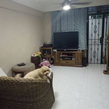 $1950 For Rent! Ful Furnished 2 + 1 Bedroom @ Toa Payoh. 3 Minutes Walk To MRT
