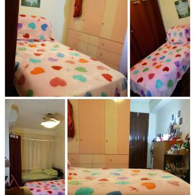 Urgent! 1 Female Bed Space Available On 01-Dec-2016