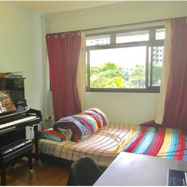Fully Furnished Common Room For Rent, Compassvale Walk Sengkang (No Agent Fee)