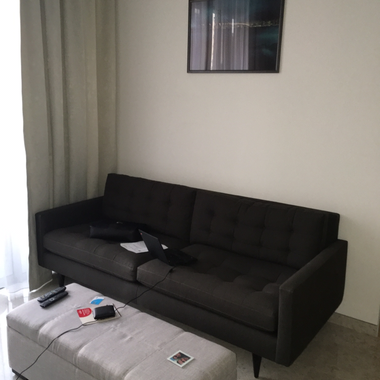 Dorsett residences - furnished room in 2 bedroom apartment