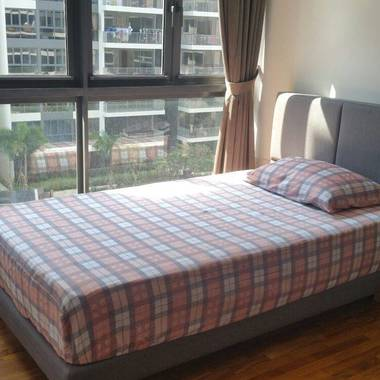 Cosy New Room with Pool View at High-End Executive Condominium