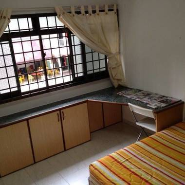 Blk 281 Toh Guan Road Common room + Single bed=SGD650/pax