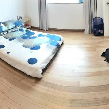 Feel at home in this wonderful and spacious MASTER BEDROOM, right in the heart of Singapore!