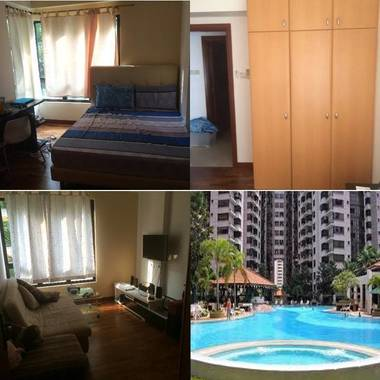 Condo common room near Chinese Garden MRT for rent