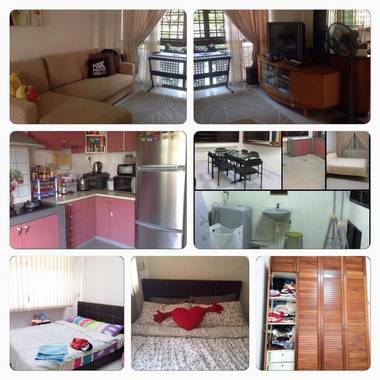 Tampines common room for rent at Street 71