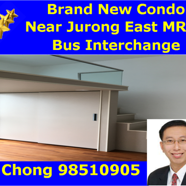 (Brand New Condo) Near Jurong East MRT - 1/2/3/4 Bedder JGateway Condo Whole Unit for Rent