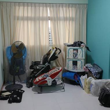 Clean & Aircon Room near the woodlands industrial area