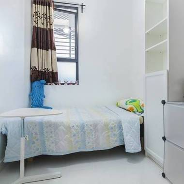 Modern tiny room with full condo facilities