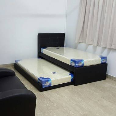 主人房出租 Master Room For Rent Jalan Kayu $1000 To $1300 (Room With Attached Bathroom,Air Con,Bed)