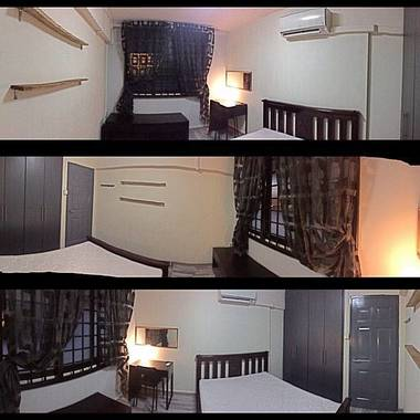Fully furnished 3-Rm HDB at Tampines