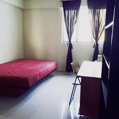 2 common rooms for rent • no agent fee
