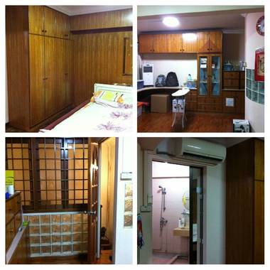 Spacious Master bedroom at Tampines St. 45, near Airport