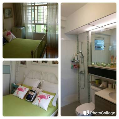 Fully furnished air con room for rent