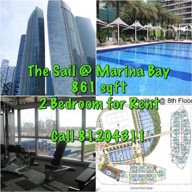 2 Bdrm for Rent @ The Sail Marina