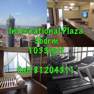 3 Bdrm for Rent @ International Plaza (Tanjong Pagar)