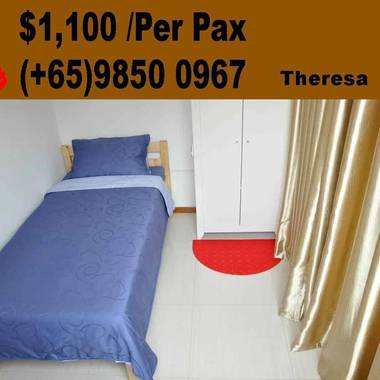 PENTHOUSE ! Single Bedroom - 5 mins walking distance to ALJUNIED MRT | PAYA LEBAR