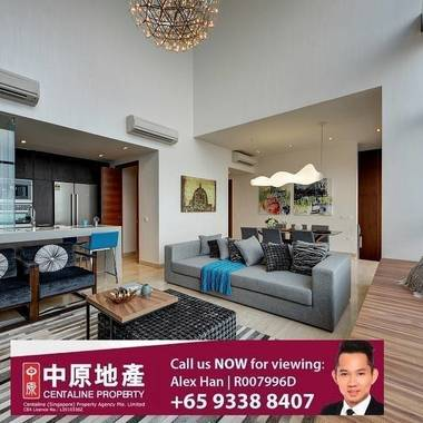 Altez condo at Enggor Street, Tanjong Pagar for rent