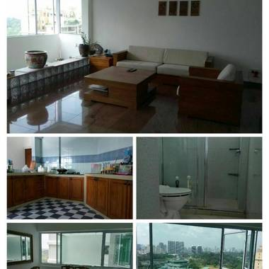 3 bed room with 3 bath room condo for rent no agt fee !