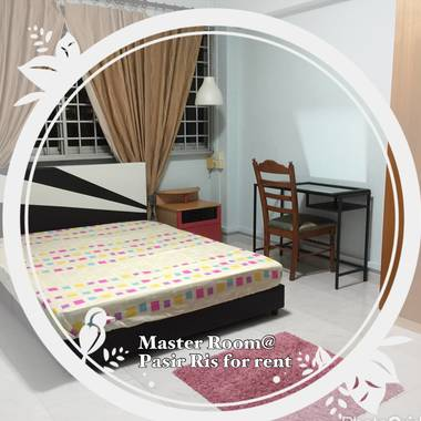 HDB Master Room. Female Environment. No Agent Fee! No Owner staying!