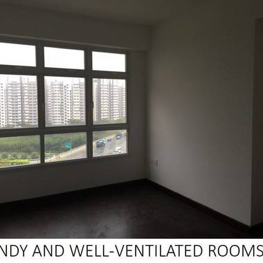 Sengkang 2 Common Room For Sharing – 2 Bus Stops To MRT- No Agent Fee – JUST COLLECTED KEYS