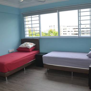 Newly renovated at excellent location with 3 minutes walk to Simei MRT station and amenities.