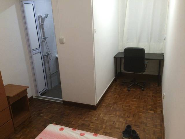 Coronation Arcade Walk Up apartment  - Master room with attached toilet