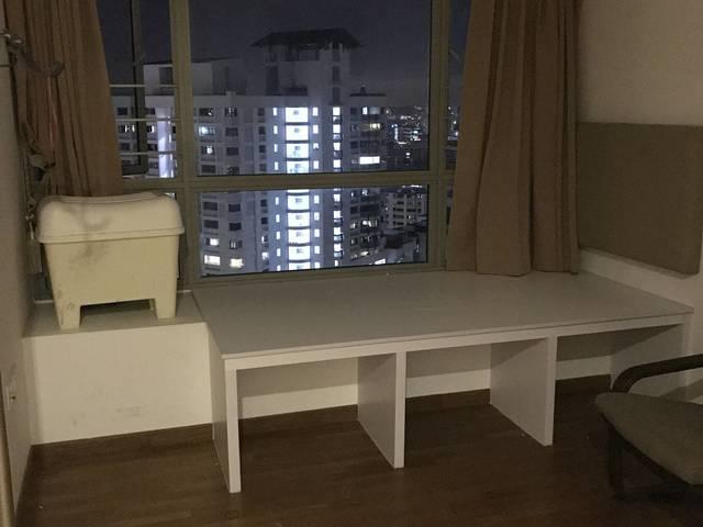 Junior Master bedroom w private shower/toilet - Trevista Condo