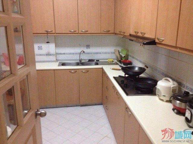 Condo: The Sunny Spring Renting Maid Room with Aircon $450