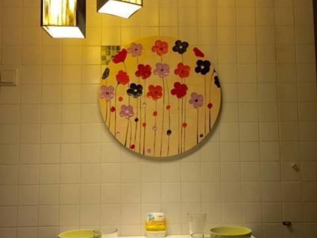 $ 1000 Tidak ada Agen Fee Tanpa PEMILIK CONDO direnovasi master rm  Tiffany Desain  Dengan Batht