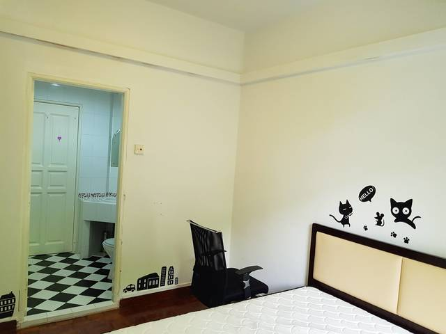 Masterbedroom at Elizabeth Height, near Orchard