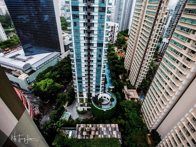 Newton Suites 2BR condo near Novena MRT, 796 sqft high floor fully furnished, tastefully renovated