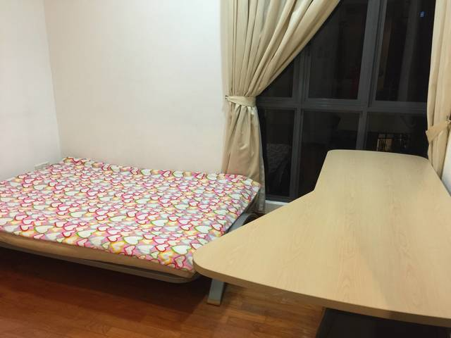 Common room at carissa condominium