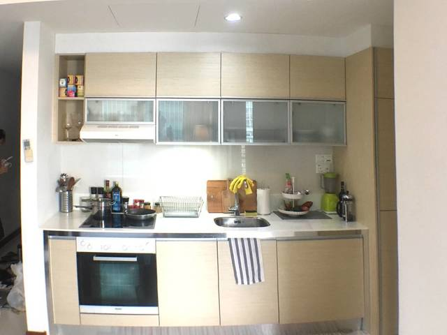 (Short Term - 3mo.) Bright Spacious 57th Floor 1 BR at The Sail (CBD) w/Views
