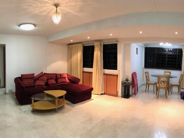 Common Room - 6 Farrer Road - Right above Farrer Road MRT