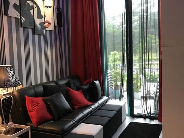 French design condo single room