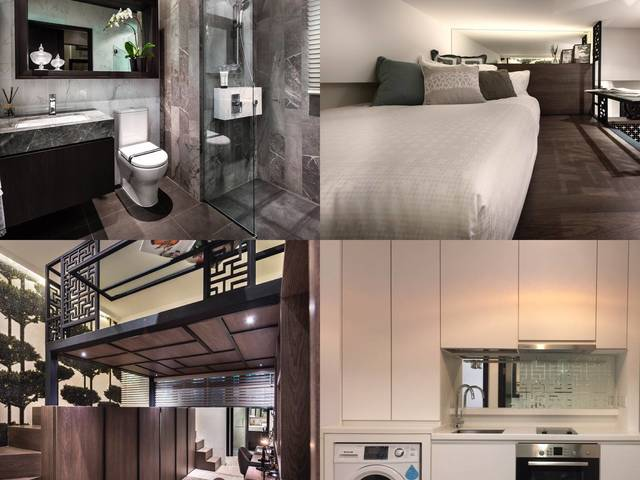1 bedroom loft condo apartment near VivoCity