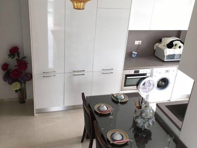 HawPar Villa MRT Condo Master bedroom with study room at penthouse for rent